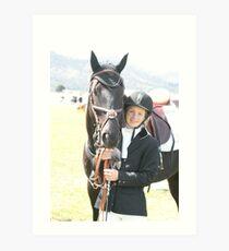 My Pony Calendar 2012 - Royal Hobart Show 2011-11 Art Print