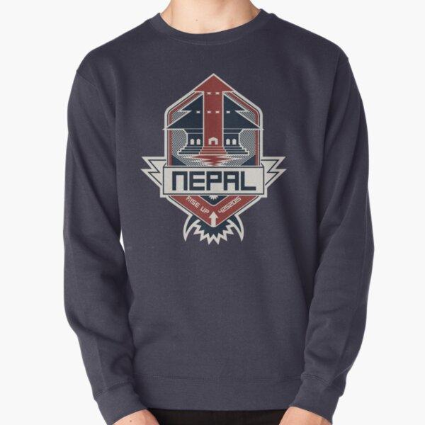Nepal, Rise Up Pullover Sweatshirt
