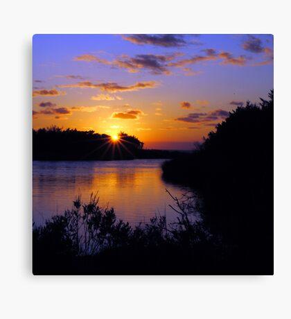 Sunset at MP43 Canvas Print