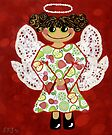 Fruit Salad Angel - she's quirky and cute as a button! by Lisafrancesjudd