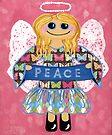 Butterfly Peace Angel - she has a message for all of us. by Lisafrancesjudd
