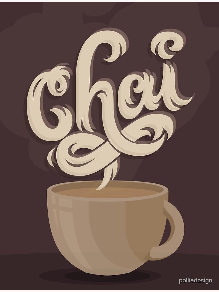 Chai Tea by polliadesign
