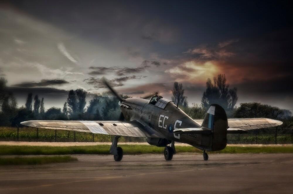 Hawker Hurricane by UKGh0sT