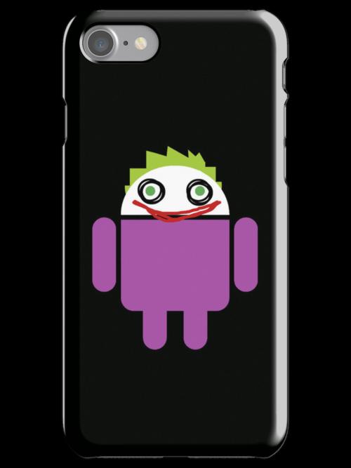 Jokeroid by Karen  Hallion