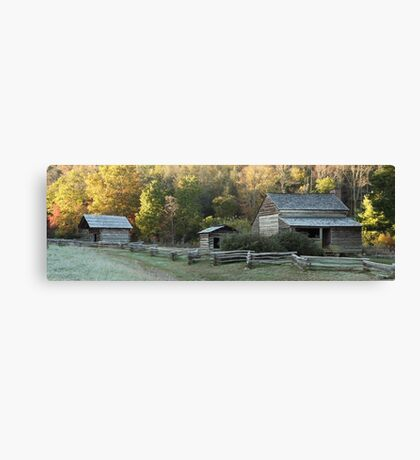 Cades Cove Farm Canvas Print