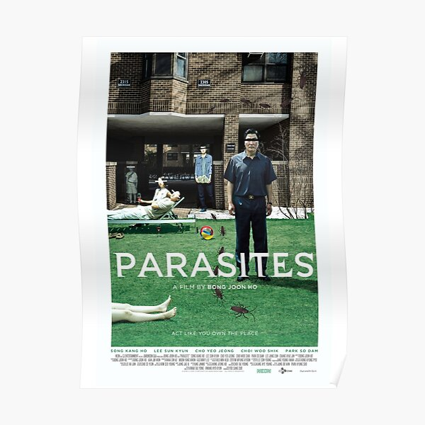 Northwestern PARASITE Movie Poster Poster
