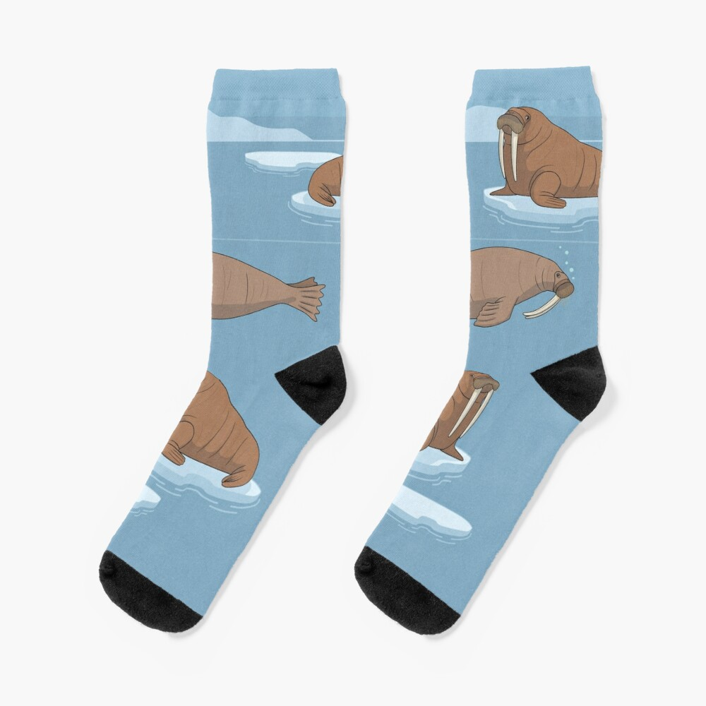Pacific Walrus Socks