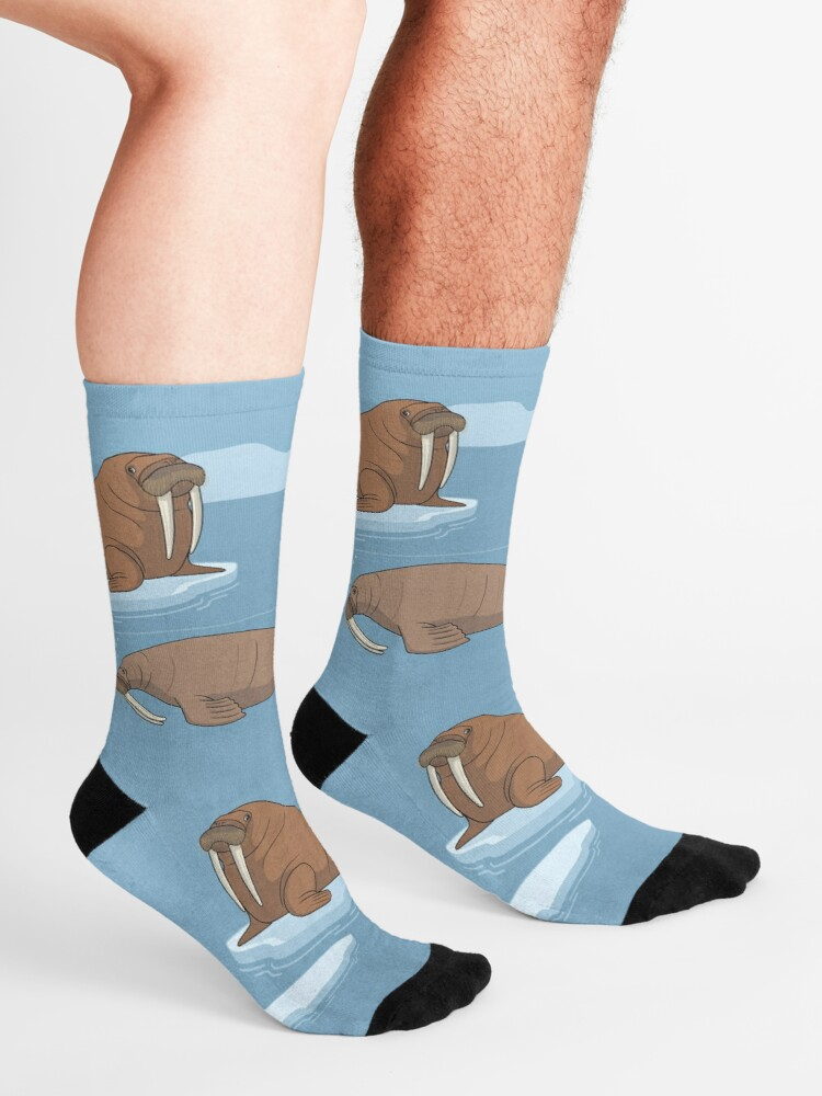 Alternate view of Pacific Walrus Socks