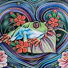 Floating Tree Frog by Jacquelyn Braxton