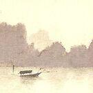 Ha Long Bay Vietnam by Michelle Gilmore
