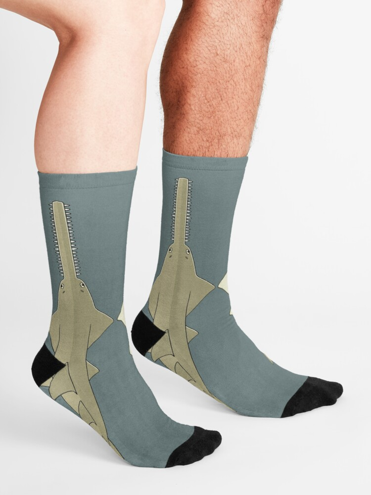 Alternate view of Sawfish Socks