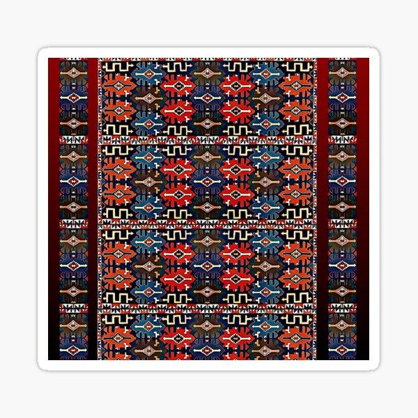 Armenian  traditional Pattern, Հայկական ավանդական օրինաչափություն Sticker