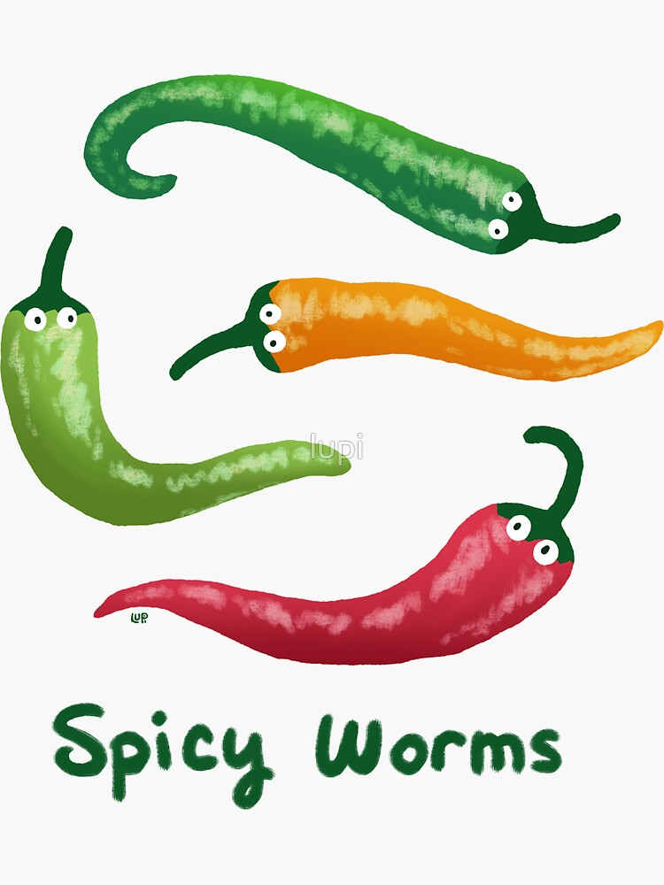 Spicy Worms by lupi