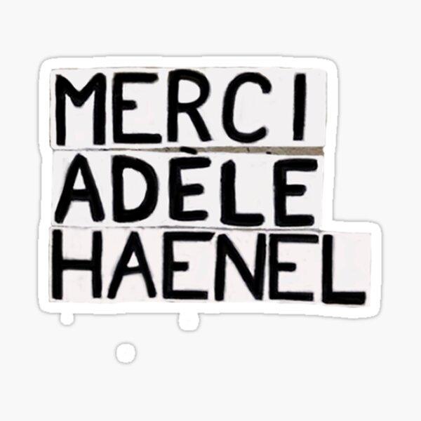 Merci Adéle Haenel Sticker