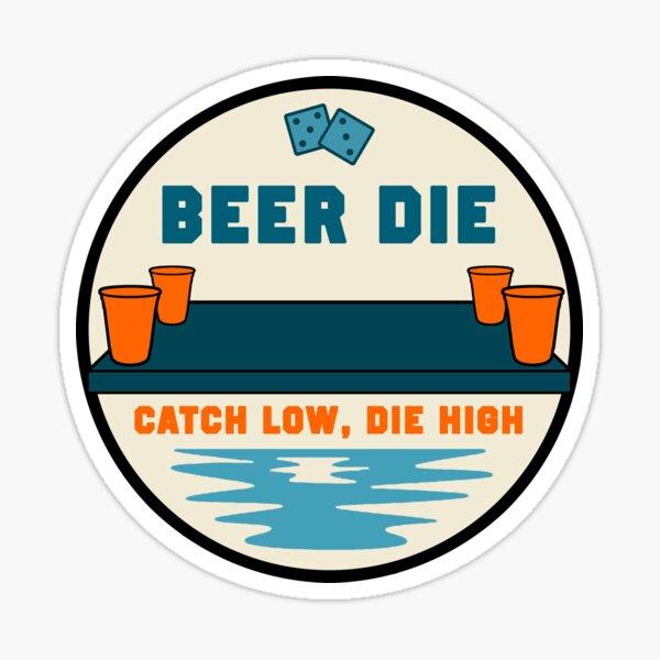 Beer Die Sticker
