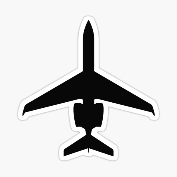 Pilot Wings Decal Sticker Commercial Private Aviation Car Truck Window Laptop