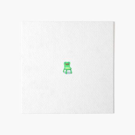 Froggy Chair Art Board Print By Ceomg Redbubble
