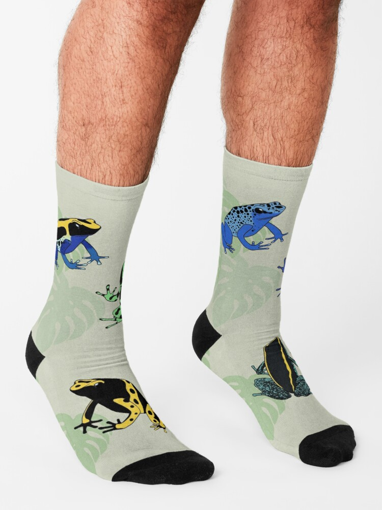 Alternate view of Poison Dart Frogs Socks