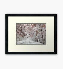 Autumn Wonderland Framed Print