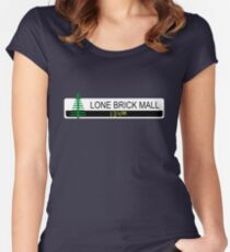 Lone Brick Mall Women's Fitted Scoop T-Shirt