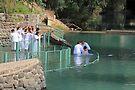 Baptised in the Jordan river #11 by Moshe Cohen