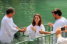 Baptised in the Jordan river #12 by Moshe Cohen