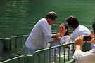 Baptised in the Jordan river #13 by Moshe Cohen