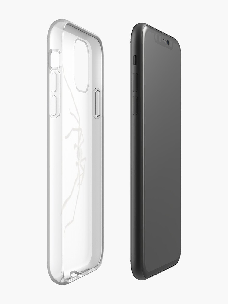 Alternate view of Friendly Huntsman iPhone Case & Cover