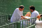 Baptised in the Jordan river #15 by Moshe Cohen