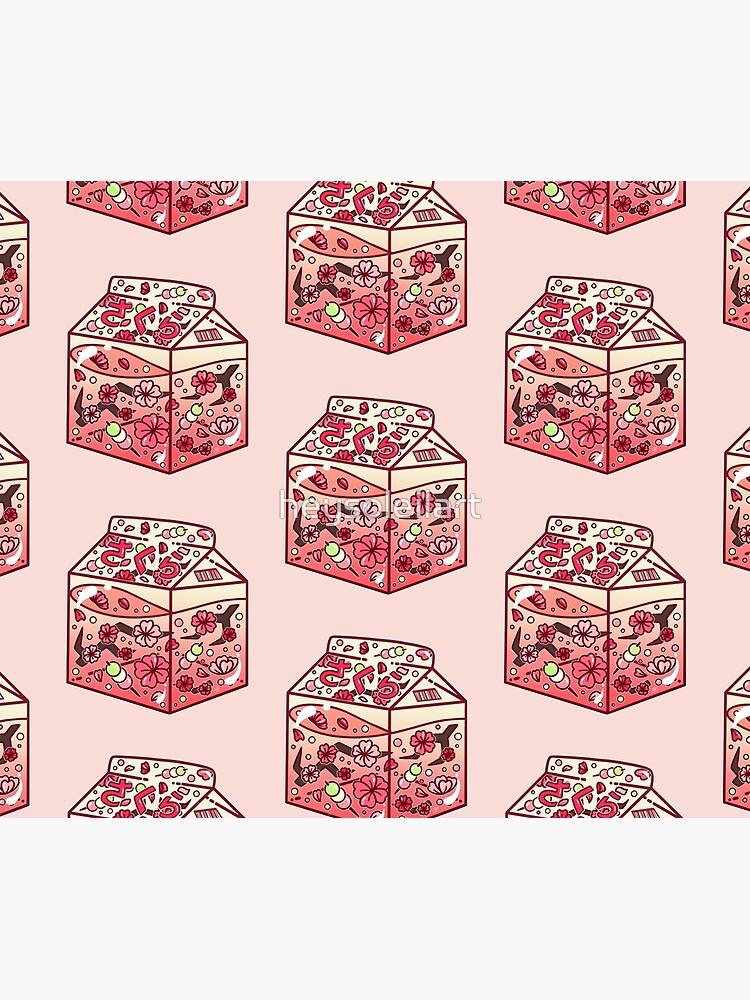 Cartón de cristal de Sakura de heysoleilart