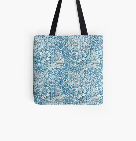 Marigold by William Morris  All Over Print Tote Bag