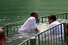 Baptised in the Jordan river #23 by Moshe Cohen