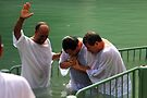 Baptised in the Jordan river #26 by Moshe Cohen