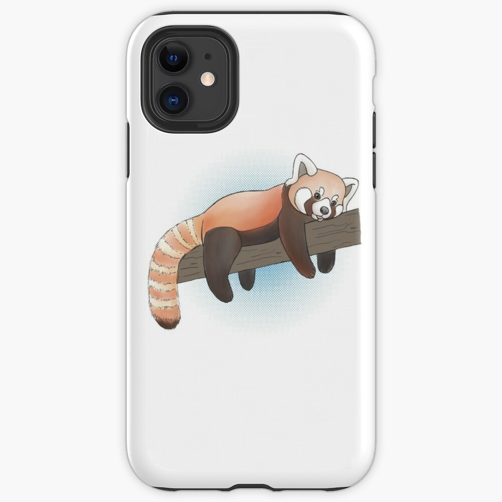 Red Panda On A Limb iPhone Case & Cover