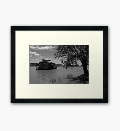 Paddle Wheeler - Murray River Framed Print