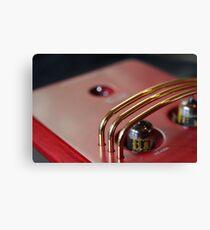 Valve Amplifier Canvas Print