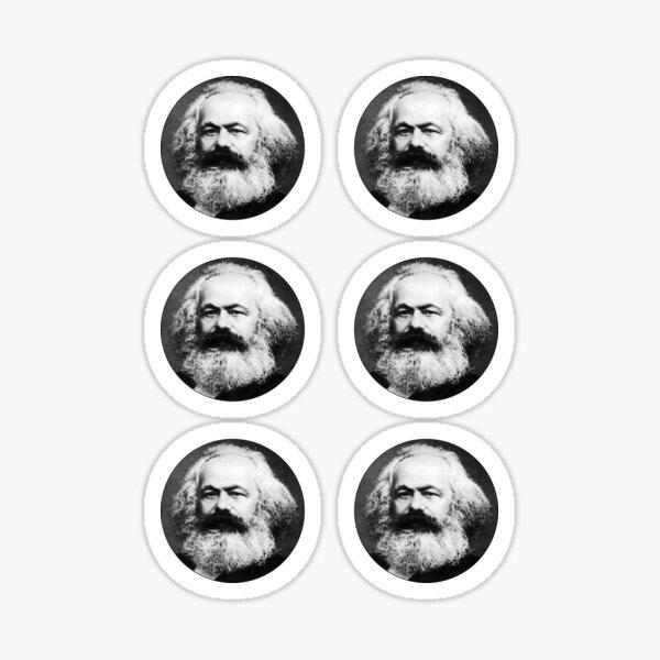 Paquete de pegatinas Karl Marx Pegatina