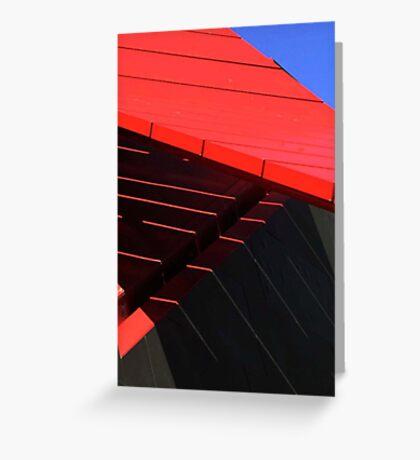 Abstract shadows Greeting Card