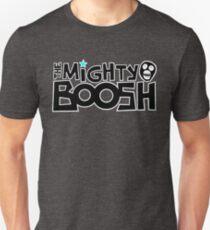 The Mighty Boosh – Black Writing & Mask T-Shirt