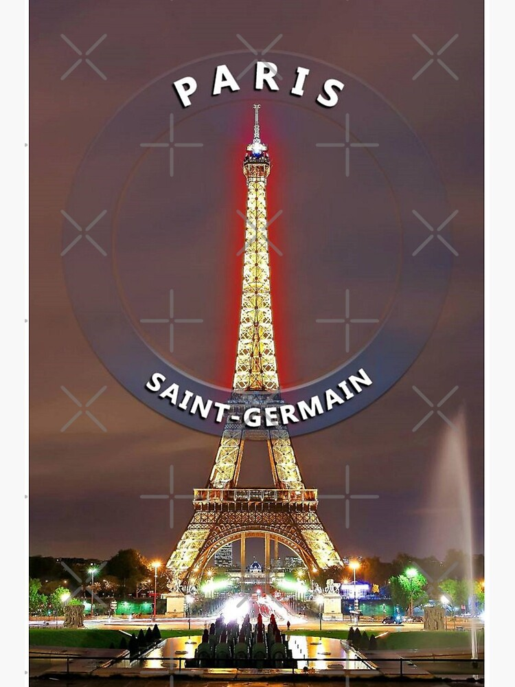 Psg Paris Saint Germain Art Board Print By Setiakarsan Redbubble