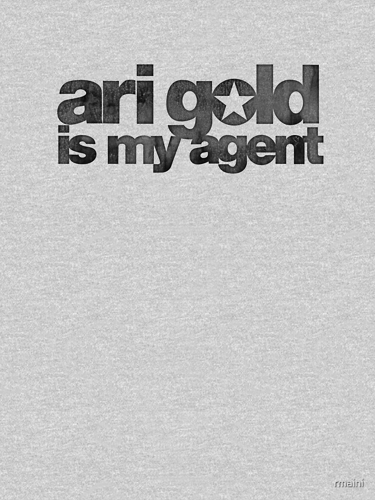 Ari Gold is my Agent (Black) | V-Neck