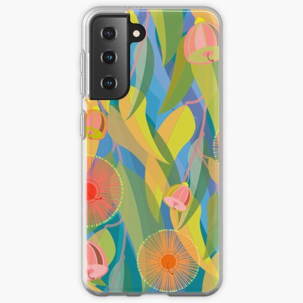 Gum leaves and gum nuts Samsung Galaxy Soft Case