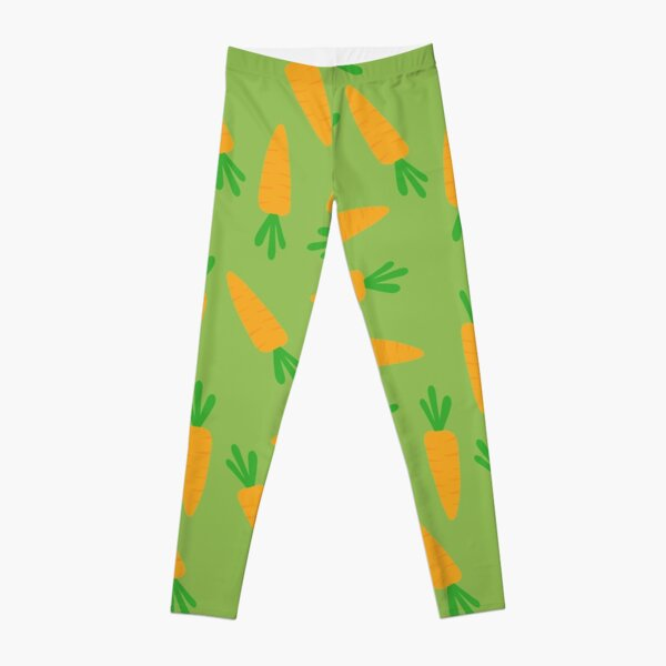 Carrot pattern Leggings