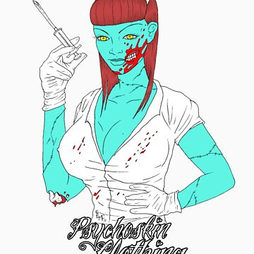 Undead Nurse by Psychoskin