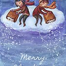 Let it snow by Ine Spee