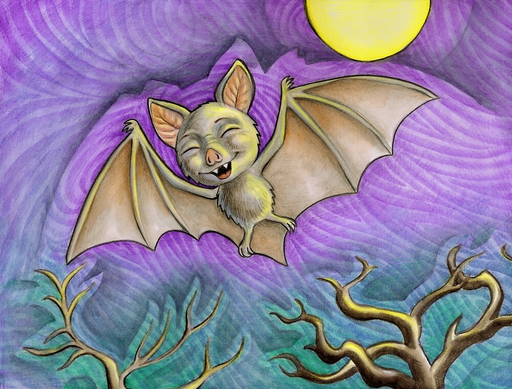 Bat by snailmakesart