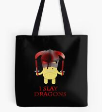 I Slay Dragons! Tote Bag
