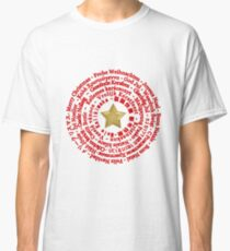 Merry Christmas in Different Languages Classic T-Shirt