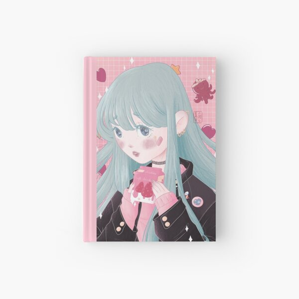 Strawberry Hardcover Journal