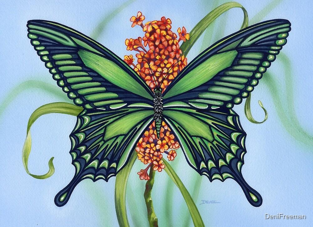 Emerald Wings by DeniFreeman